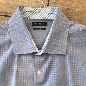 Tailorbyrd Blue Dress Shirt